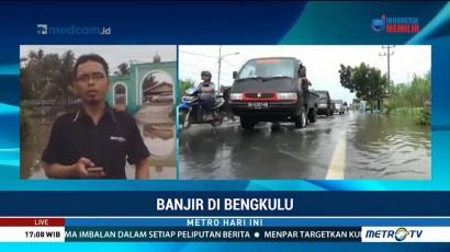 Banjir Mulai Surut, Jalinsum Bisa Dilalui Kendaraan