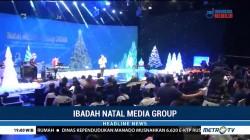 Ibadah Natal Media Group Serukan Semangat Tolong-Menolong