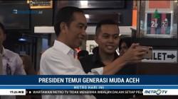 Jokowi Temui Generasi Muda Aceh