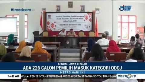 226 Orang Tidak Waras di Kendal Berhak Nyoblos Pemilu