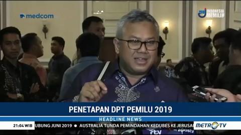 KPU Tetapkan 192,8 Juta DPT untuk Pemilu 2019