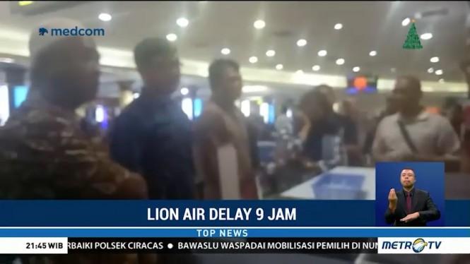 Pesawat Lion Air Rute Yogyakarta-Batam Delay 9 Jam