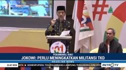 Jokowi Akui Elektabilitasnya di Riau Masih 42%