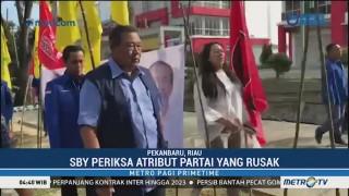 SBY Kecewa dengan Perusakan Atribut Partai Demokrat