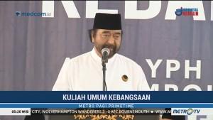 Surya Paloh Berikan Kuliah Umum Kebangsaan di Ponpes Nahdlatul Wathan