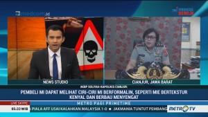 Polisi Bongkar Pabrik Mi Berformalin di Cianjur