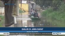 Banjir Merendam 2 Kecamatan di Kabupaten Bandung