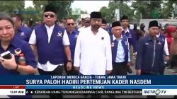 Surya Paloh Hadiri Temu Kader Partai NasDem di Jatim