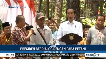 Jokowi Ajak Petani Melihat Potensi Pasar