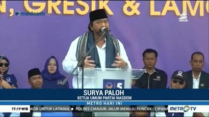 Pesan Surya Paloh saat Hadiri Temu Kader Partai NasDem di Jatim