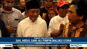 Sah, Abdul Gani-Ali Pimpin Maluku Utara