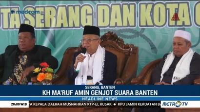 Ma'ruf Amin Siap Rebut Suara di Banten