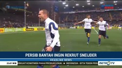 Persib Bantah Ingin Rekrut Wesley Sneijder