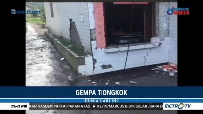Gempa 3,7 SR Guncang Tiongkok
