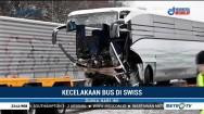 Kecelakaan Bus di Swiss, Satu Penumpang Tewas