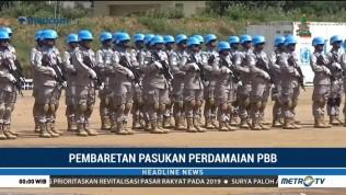 Polri Kirimkan Pasukan Garuda Bhayangkara ke Lima Misi PBB