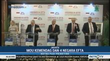 RI-EFTA Teken MoU Kemitraan Ekonomi Komprehensif