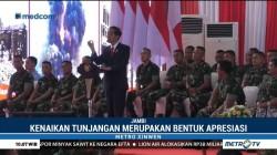 Presiden Jokowi Umumkan Kenaikan Tunjangan Babinsa