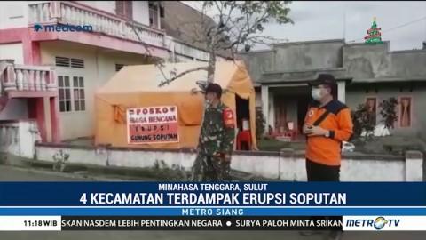 BPBD Minahasa Tenggara Kehabisan Masker Pascaerupsi Gunung Soputan