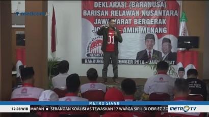 Baranusa Jabar Deklarasi Dukung Jokowi-Ma'ruf