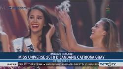 Catriona Gray Terpilih sebagai Miss Universe 2018