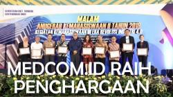 Kemenristekdikti Kembali Sematkan Penghargaan kepada Medcom.id
