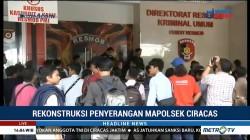 Polisi Gelar Rekonstruksi Penyerangan Mapolsek Ciracas
