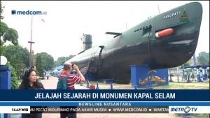 Jelajah Sejarah di Monumen Kapal Selam
