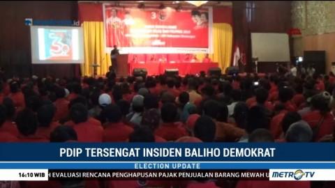 PDIP Tersengat Insiden Baliho Demokrat