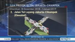Libur Natal dan Tahun Baru, Tiga Proyek di Tol Jakarta-Cikampek Dihentikan