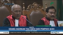 Sidang Irwandi Yusuf Hadirkan Tiga Saksi dari Pemprov Aceh