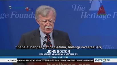 Strategi AS Tandingi Tiongkok di Afrika