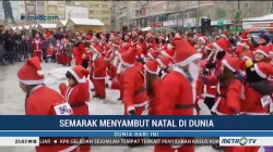 Semarak Menyambut Natal di Dunia