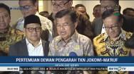 JK Gelar Rakor Dewan Pengarah TKN Jokowi-Ma'ruf