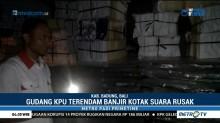 Ribuan Kotak Suara di Bali Rusak Terendam Banjir