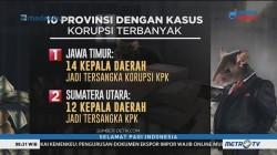 Inilah 10 Provinsi Juara Kasus Korupsi Versi ICW