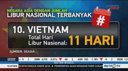 Ini Negara ASEAN dengan Libur Terbanyak