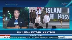 Jokowi Kunjungi Empat Ponpes di Jombang