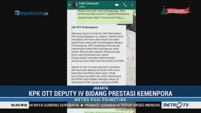 KPK OTT Deputi IV Bidang Prestasi Kemenpora