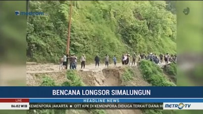 Longsor di Simalungun, Akses Jalan Teputus