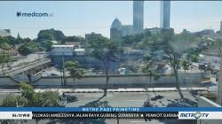 Foto Jalan Raya Gubeng di Surabaya Sebelum Ambles