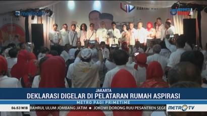 Relawan Sumbar Deklarasi Dukung Jokowi-Ma'ruf