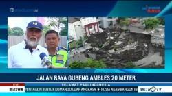 BBPJN VIII Bantu Investigasi Amblesnya Jalan Raya Gubeng
