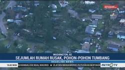 Badai Tornado Hantam AS, Sejumlah Rumah Rusak