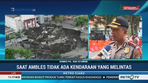 Jalan Raya Gubeng Ambles, Polisi Periksa 11 Saksi