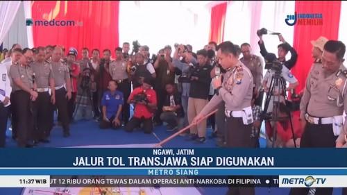 Jalur Tol Trans Jawa Siap Digunakan saat Natal dan Tahun Baru