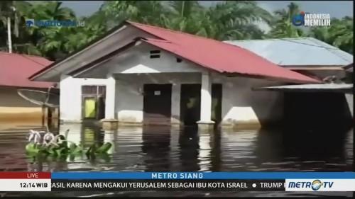 Banjir di Aceh Selatan Kian Meluas