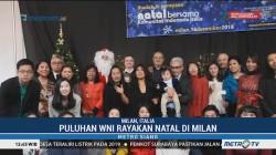 Puluhan WNI Rayakan Natal di Milan