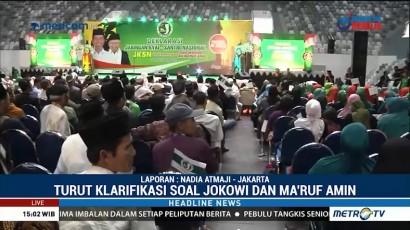 Jaringan Kyai-Santri Nasional Dukung Jokowi