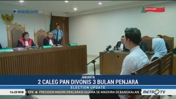 Caleg PAN Divonis Tiga Bulan Penjara